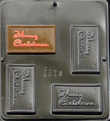 numbers to letters 1513 merry chocolate mold 1513